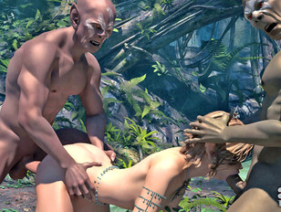 orcs porn where innocent pretty elves are slammed hard