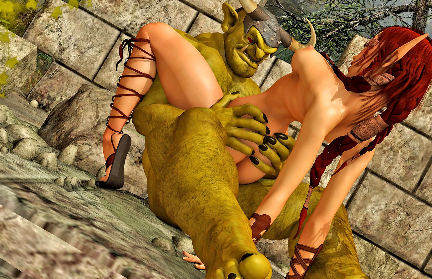 Elf girl forced sex erotic pictures