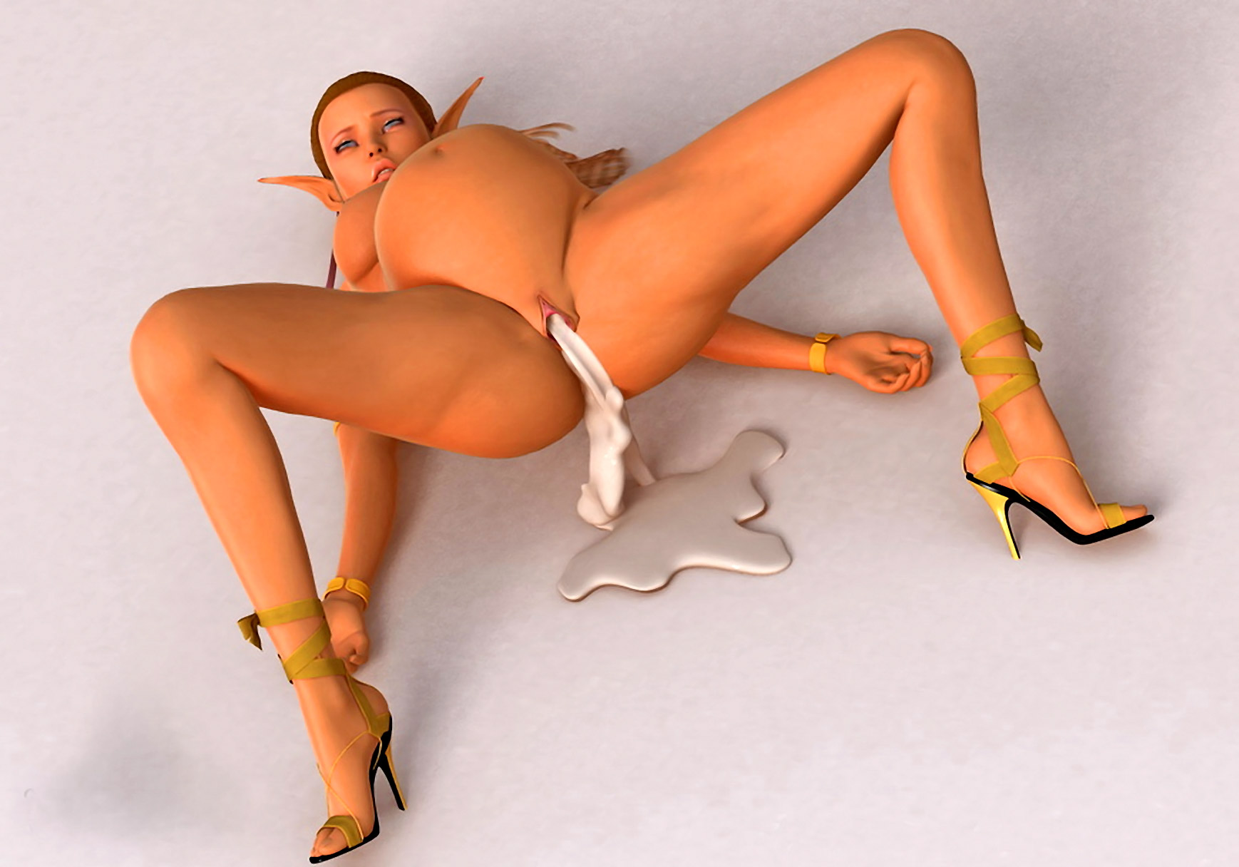 Pregnant elf getting fucked sexy video