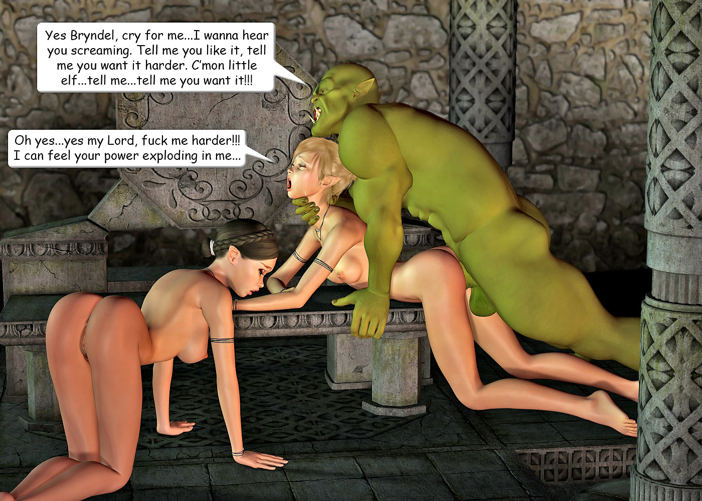 Girl fucked my green orcs porn videos