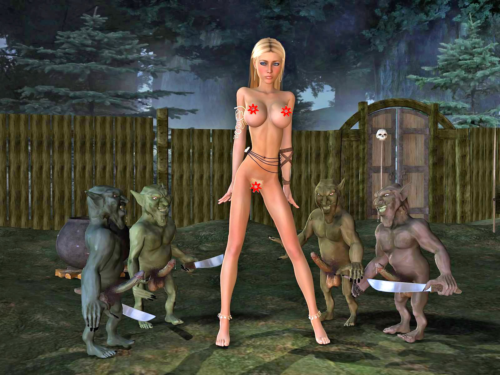 Naked elf and knome women sex pic