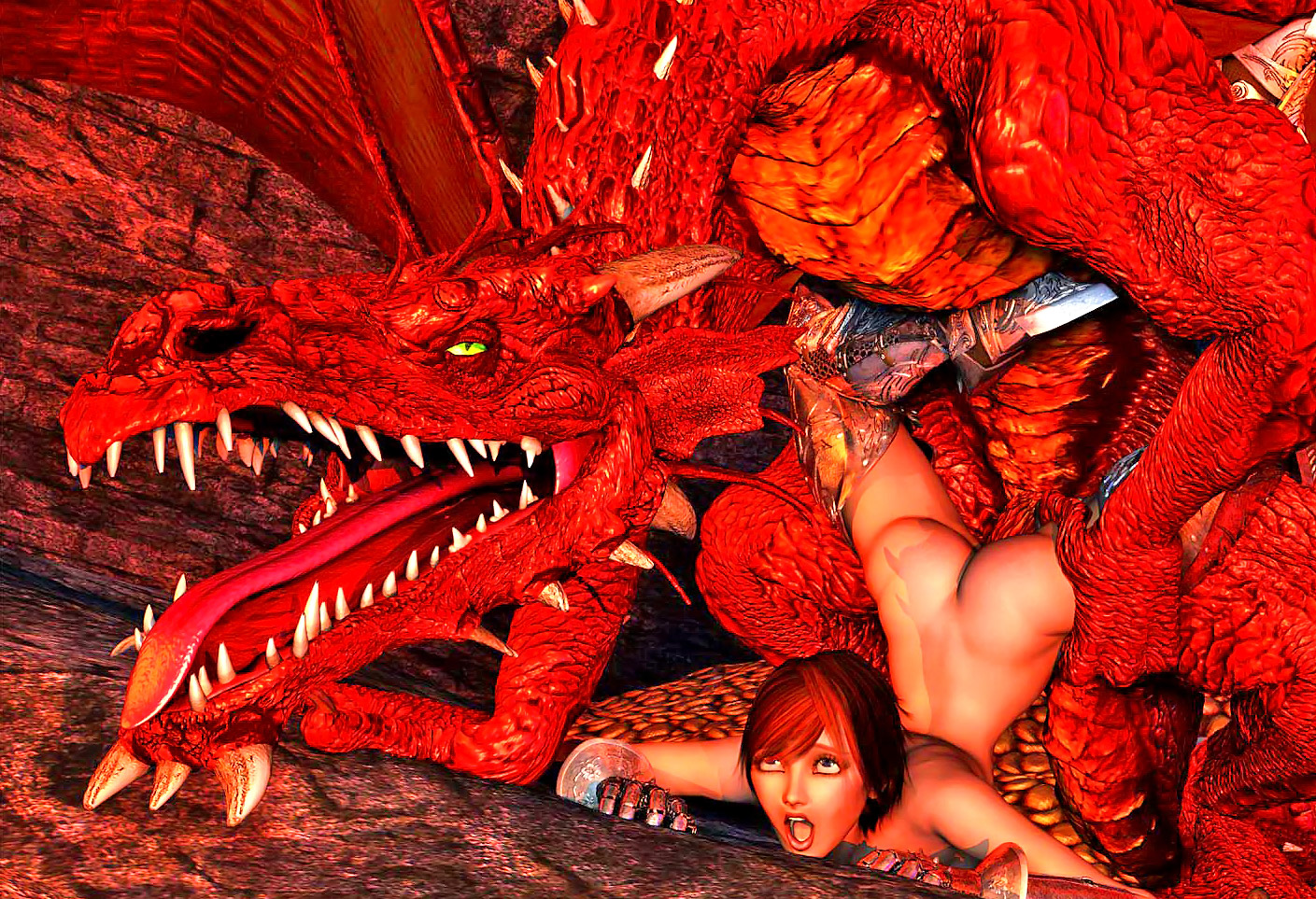 Human woman fucked by dragon video hentai photos