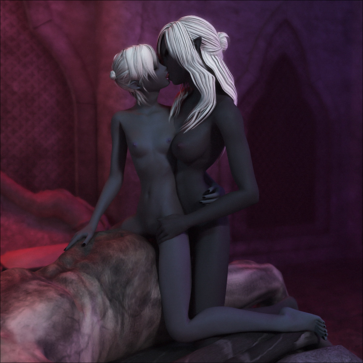Free dark elf & monster porno nackt pictures