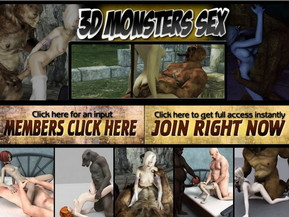 3D Monsters sex